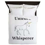 Unicorn Whisperer Queen Duvet