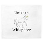 Unicorn Whisperer King Duvet