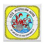 USS Mispillion (AO 105) Tile Coaster