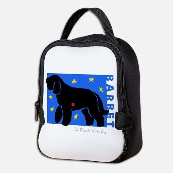 Starry Barbet Neoprene Lunch Bag