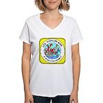 USS Mispillion (AO 105) Women's V-Neck T-Shirt