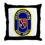 USS Kawishiwi (AO 146) Throw Pillow