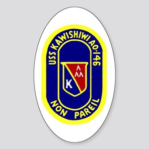 USS Kawishiwi (AO 146) Oval Sticker