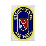 USS Kawishiwi (AO 146) Rectangle Magnet (100 pack)