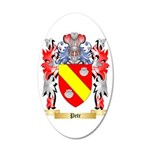 Petr 35x21 Oval Wall Decal