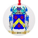 Petit Round Ornament