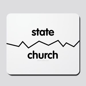 Separate Church and State Mousepad