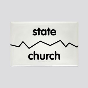 Separate Church and State Rectangle Magnet