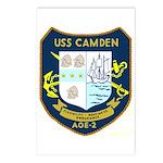USS Camden (AOE 2) Postcards (Package of 8)