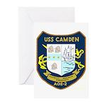 USS Camden (AOE 2) Greeting Cards (Pk of 10)