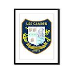 USS Camden (AOE 2) Framed Panel Print