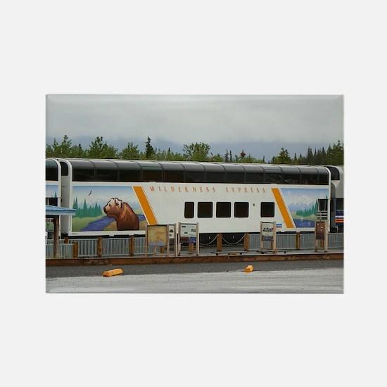 Wilderness Express, Denali, Alaska Magnets