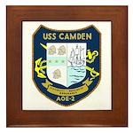 USS Camden (AOE 2) Framed Tile