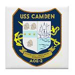 USS Camden (AOE 2) Tile Coaster