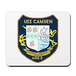 USS Camden (AOE 2) Mousepad