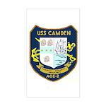USS Camden (AOE 2) Rectangle Sticker