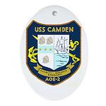 USS Camden (AOE 2) Oval Ornament