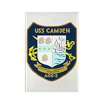USS Camden (AOE 2) Rectangle Magnet (100 pack)