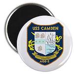 """USS Camden (AOE 2) 2.25"""" Magnet (100 pack)"""