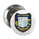 """USS Camden (AOE 2) 2.25"""" Button (10 pack)"""