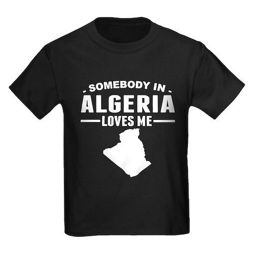 Somebody In Algeria Loves Me T-Shirt