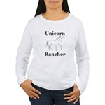 Unicorn Rancher Women's Long Sleeve T-Shirt