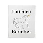 Unicorn Rancher Throw Blanket