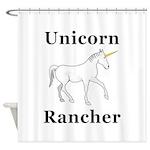 Unicorn Rancher Shower Curtain