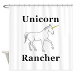 Unicorn Rancher Shower Curtain