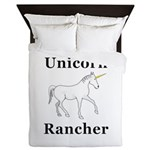 Unicorn Rancher Queen Duvet
