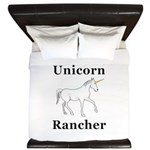 Unicorn Rancher King Duvet