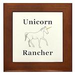 Unicorn Rancher Framed Tile