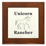 Unicorn Rancher Framed Tile