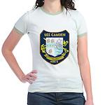 USS Camden (AOE 2) Jr. Ringer T-Shirt