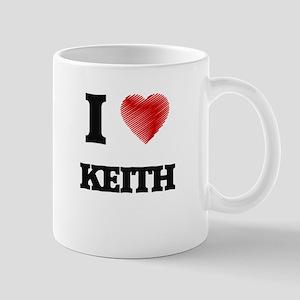 I Love Keith Mugs
