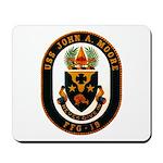 USS JOHN A. MOORE Mousepad