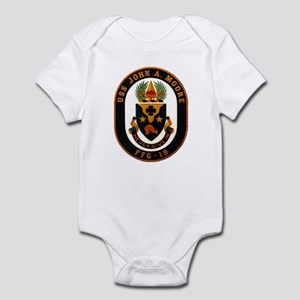 USS JOHN A. MOORE Infant Bodysuit