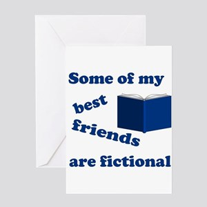 Some of my Best Friends are Fictional Greeting Car