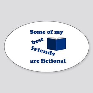 Some of my Best Friends are Fictional Sticker