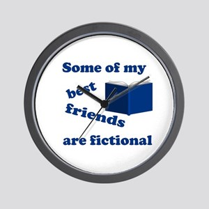 Some of my Best Friends are Fictional Wall Clock