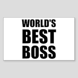 Worlds Best Boss 2 Sticker
