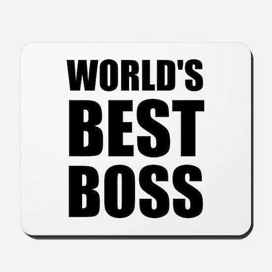 Worlds Best Boss 2 Mousepad