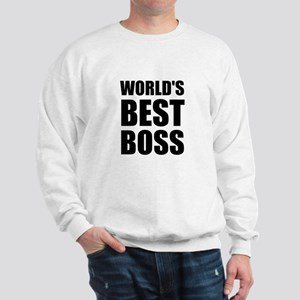 Worlds Best Boss 2 Sweatshirt