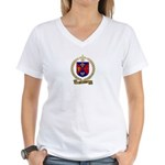 MARCHAND Family Women's V-Neck T-Shirt