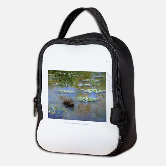 Barbet Water Lilies Neoprene Lunch Bag