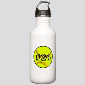 Softball with Custom P Stainless Water Bottle 1.0L