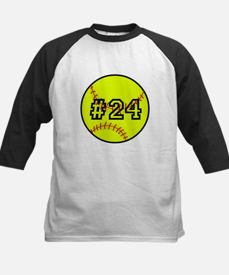 Softball with Custom Player N Kids Baseball Jersey