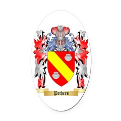 Pethers Oval Car Magnet