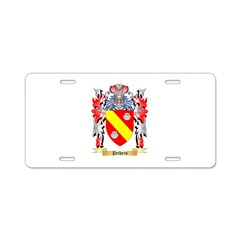 Pethers Aluminum License Plate