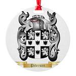 Peterson Round Ornament